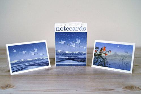 Athelhampton gift shop dorset 10 notelets and envelopes prints by niki bowers