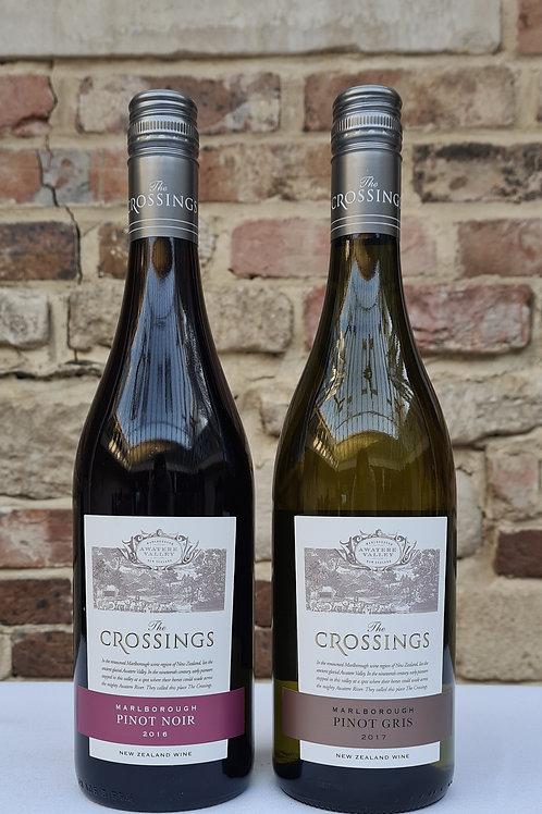 Athelhampton gift shop wine cellar glass bottle New Zealand pair crossings pinot noir gris red white