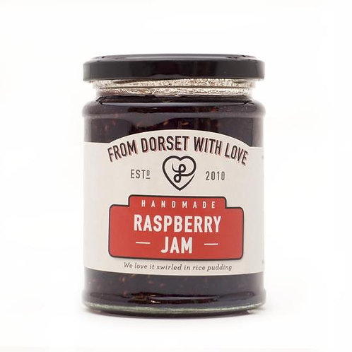 Athelhampton gift shop from dorset with love jar raspberry jam