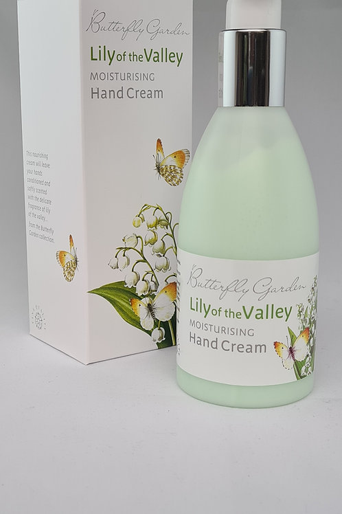 Athelhampton gift shop white rose aromatics butterfly garden lily of the valley moisturising hand cream
