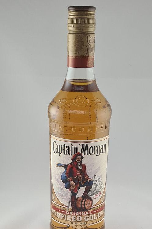 Athelhampton gift shop wine cellar glass bottle captian Morgan original spiced gold rum 70cl