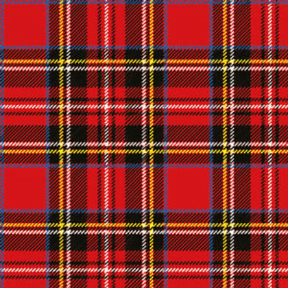 Athelhampton gift shop dorset ambiente paper napkins Scottish red