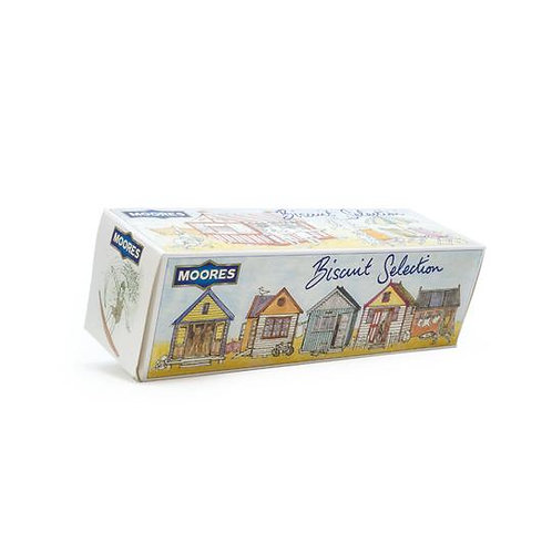 Athelhampton gift shop Moores biscuits dorset beach hut selection