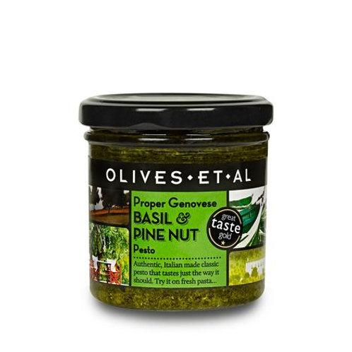 Athelhampton gift shop olives et al dorset proper Genovese basil pine nut pesto