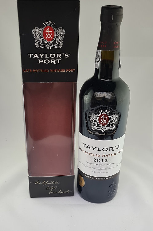 Athelhampton gift shop wine cellar glass bottle Taylor's LBV Boxed port