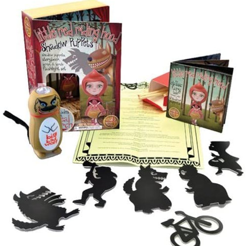 Athelhampton gift shop house of marbles children little red riding hood shadow puppets