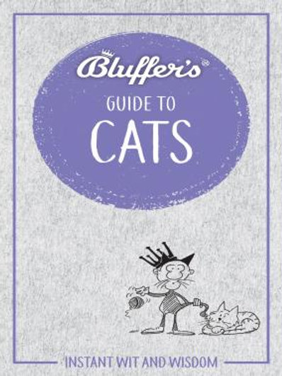 Athelhampton gift shop dorset books paperback the bluffers guide to cats