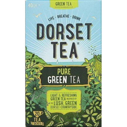 Athelhampton gift shop dorset tea pure green tea 20s