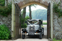 Arrival of the Bride at Athelhampton