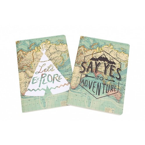 The Great Outdoors A5 Set of 2 Journals