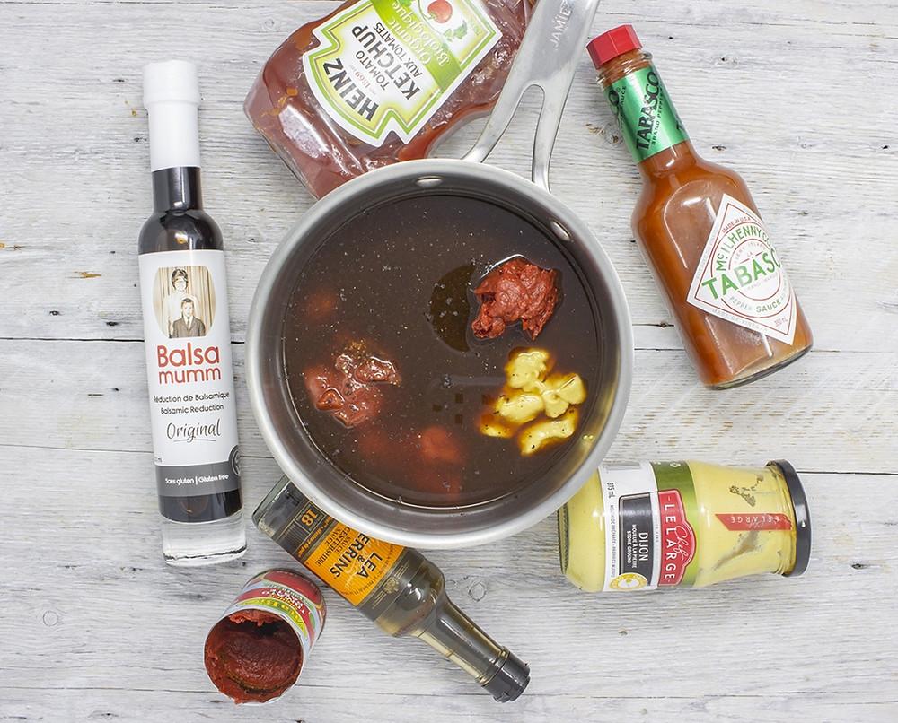 Balsamumm BBQ sauce