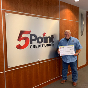 SETX Circle of Hope Chosen as Recipient for 5Point Credit Union's 15th Annual C.A.R.E. Fund