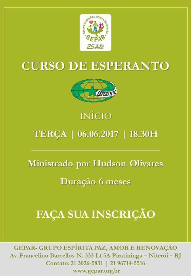 CURSO DE ESPERANTO