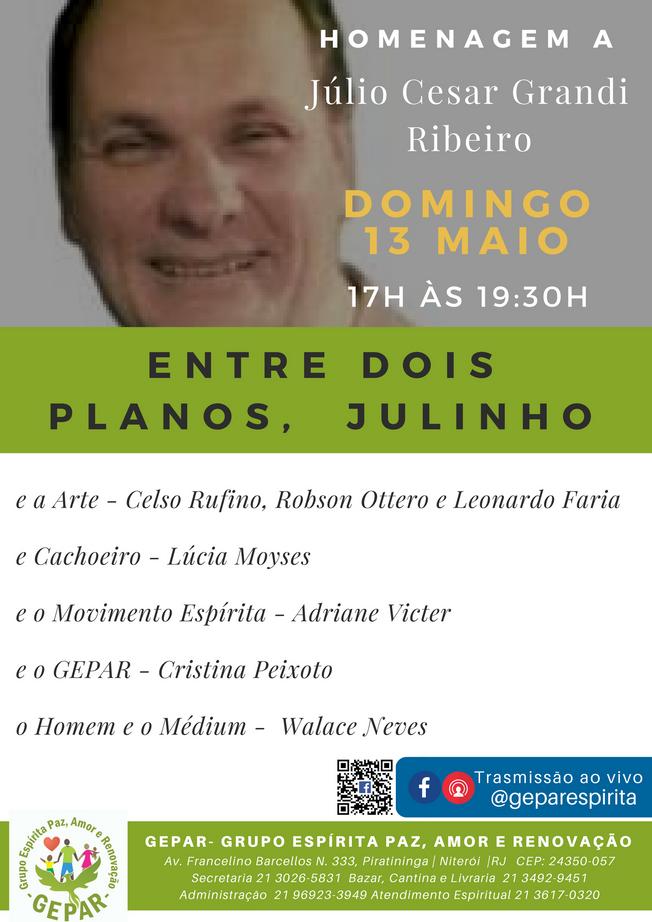 """GEPAR - Homenagem a """"Julinho"""""""