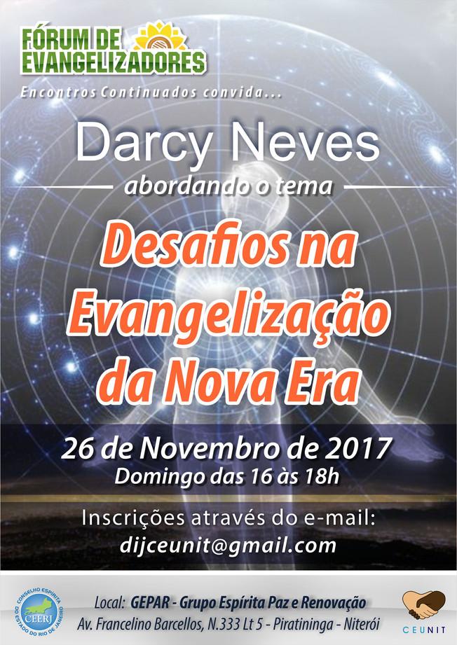 Fórum de Evangelizadores com Darcy Neves