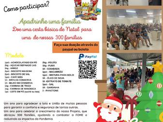 Campanha para arrecadação de Cesta Básica de Natal