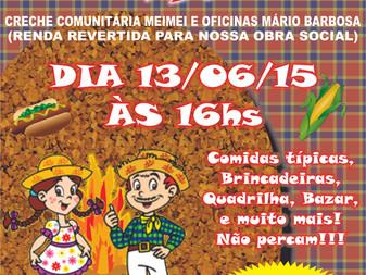 Venha participar do ARRAIÁ DO GEPAR!!!!