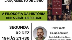 Mini Seminário e Lançamento do livro: A Filosofia da História -Sob a visão espiritual