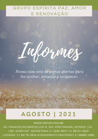 Informes - Agosto/2021