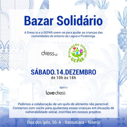 Bazar Beneficente - Especial Peças LoveDress
