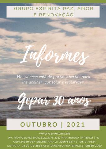 Informes - Outubro | 2021