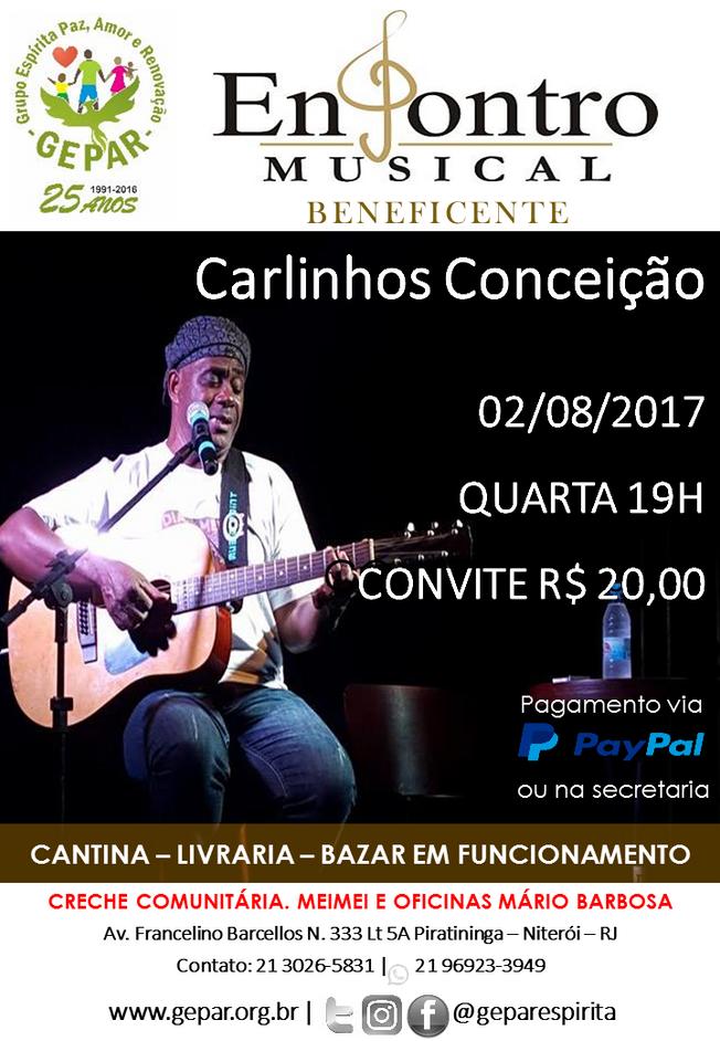 Encontro Musical com Carlinhos Conceição