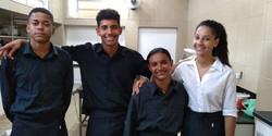 Jovens oficinas de auxiliar event