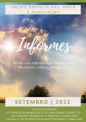 Informes - Setembro   2021