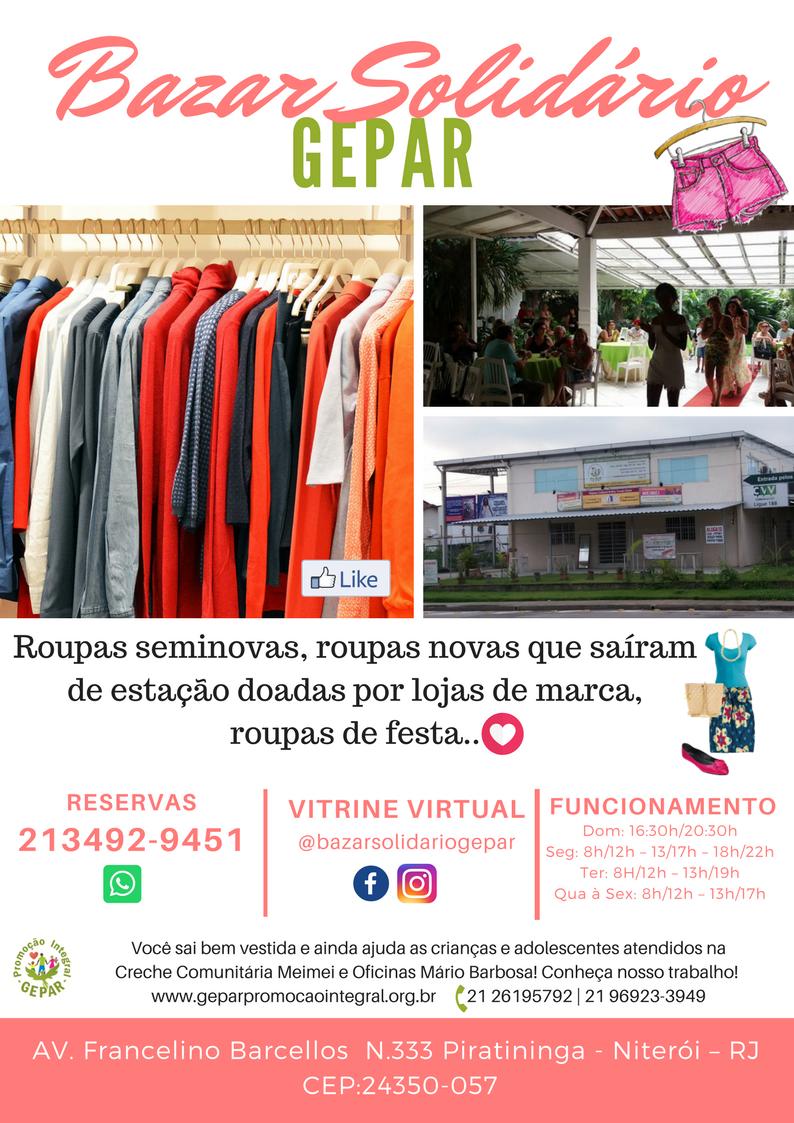 Panfleto bazar 2018