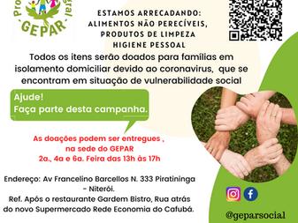 Campanha - Doação de Alimentos