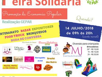1a. Feira Solidária - Promoção da Economia Popular - GEPAR