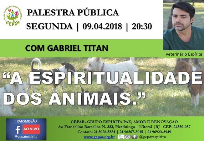 Palestra Pública com Gabriel Titan