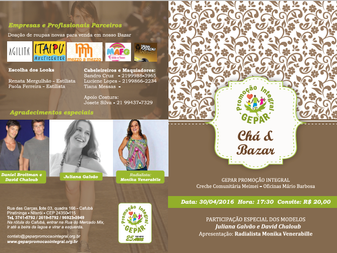 Programa Chá & Bazar Solidário
