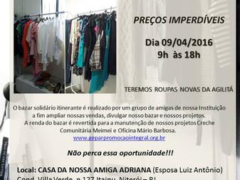 GEPAR - Bazar Solidário Itinerante