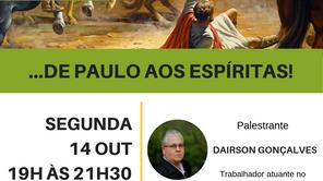 Mini Seminário - ...De Paulo aos espíritas