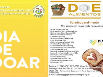 #DiadeDoar Alimento