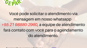 Atendimento Fraterno Virtual - Via Whatsapp
