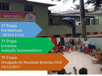Admissão de Novos Alunos - 2018