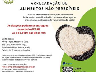 Campanha de Doação de Alimentos para Cesta Básica