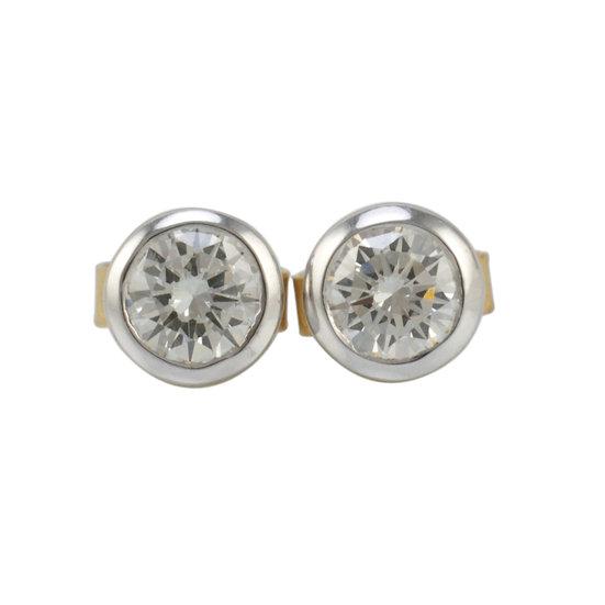 Diamond Stud Earrings 0.75ct