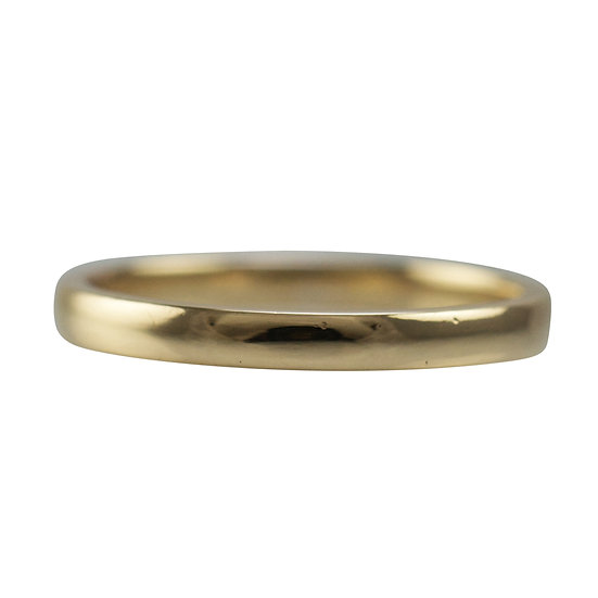 9ct Utility Stamped Wedding Band - SOLD