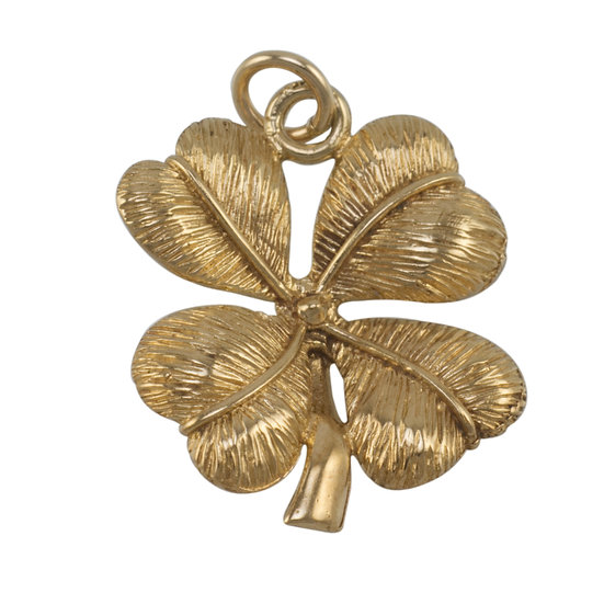 9ct Four Leaf Clover Charm - Reserved