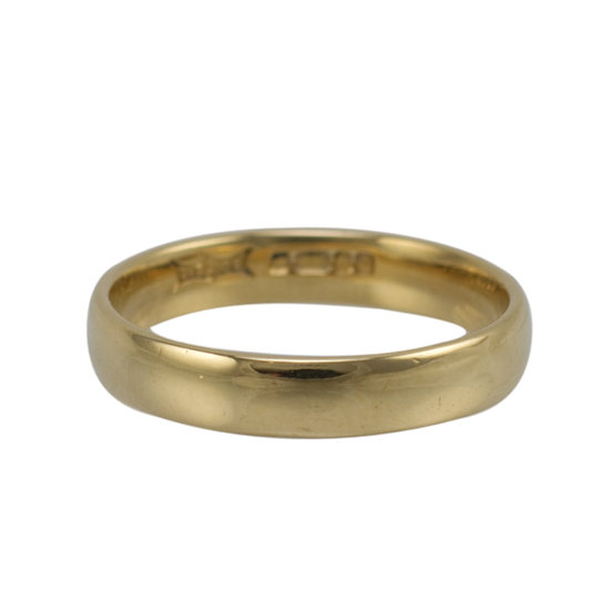 18ct Second-hand Wedding Ring - SOLD