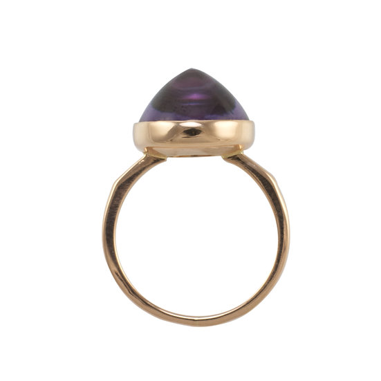 14kt Russian Rose Gold Ring - SOLD
