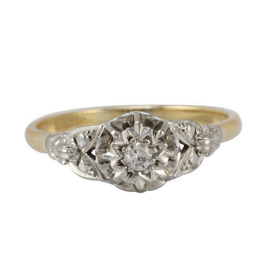 18ct & Platinum Vintage Ring