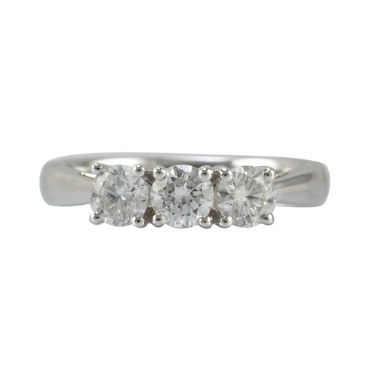 1ct Diamond Trilogy Ring - SOLD