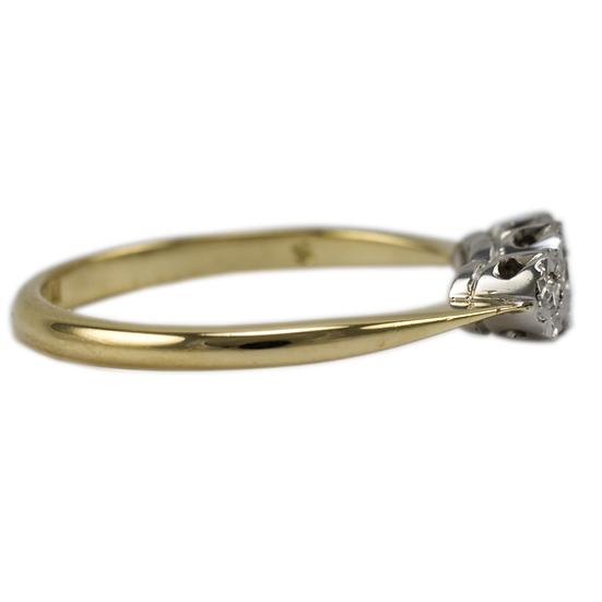 Vintage Three Stone Diamond Ring