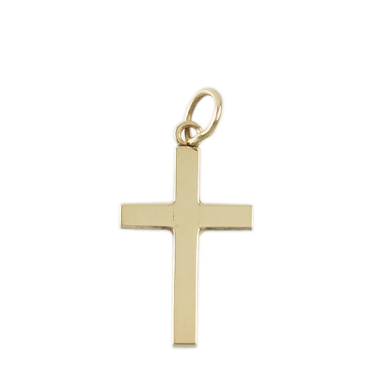 9ct Solid Cross - SOLD