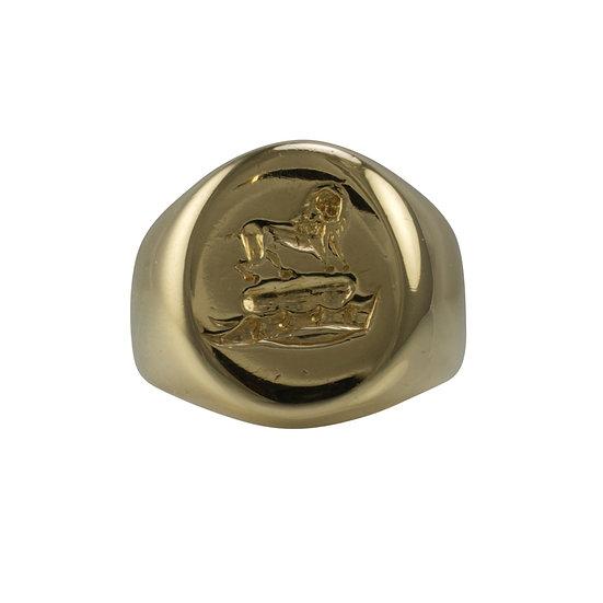18ct Oxford Signet ring