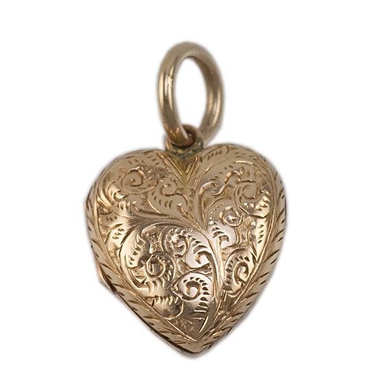 Victorian 9ct Heart Locket - Sold